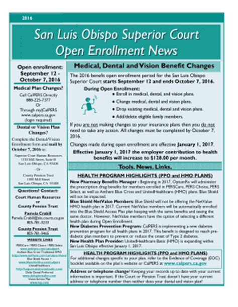 San Luis Obispo Superior Court Search Fillable Secure Slocourts 2016 San Luis Obispo Superior Court Open Enrollment