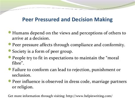 Effects Of Peer Pressure Essay by All Worksheets 187 Peer Pressure Worksheets For Middle School Printable Worksheets Guide For