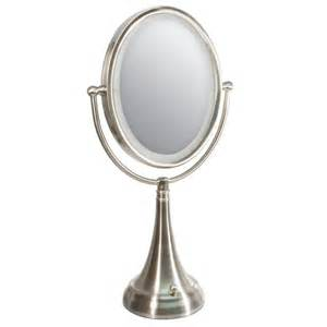 Vanity Lights Oval Mirror Magnifying Mirrors