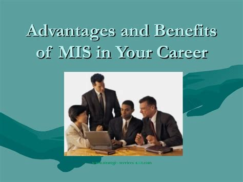 Benefit Of Change Mba To Ms In Mis by Advantages And Benefits Of Mis In Your Career