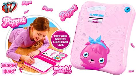 How To Make A Secret Diary Out Of Paper - moshi monsters poppet secret diary review unboxing