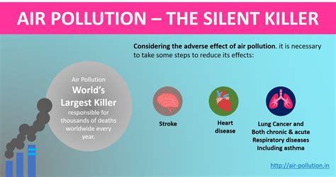 effects  air pollution  human health  environment