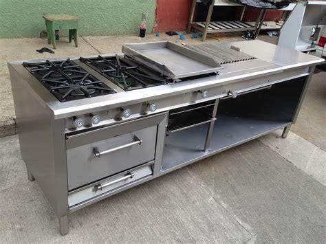 cocinas industrial cocina industrial 3 que plancha grill horno gratinador