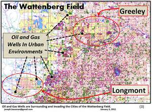 colorado and gas fields map the cogcc is debating new for water quality and