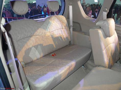 Maruti Eeco 7 Seater Interior View by Team Bhp Maruti Ertiga 7 Seater Auto Expo 2012