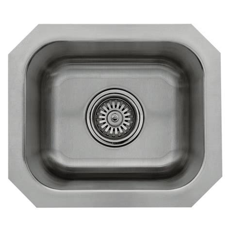 10 x 12 bar sink kitchen sinks great lakes stainless steel single bowl