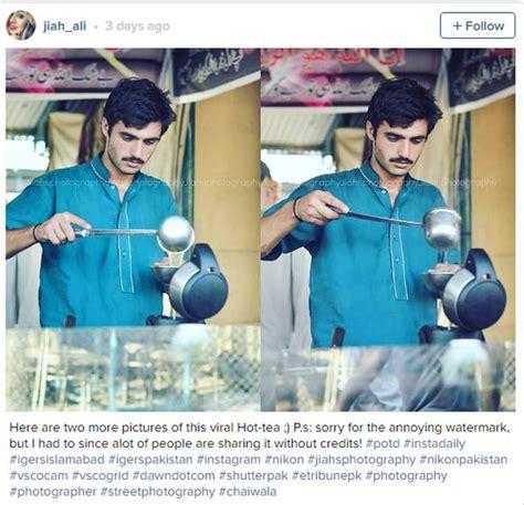 Teh Dunia arshad khan penjual teh kacak dari pakistan kini trending