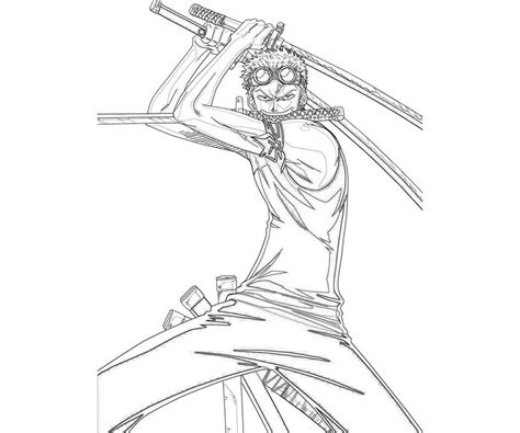 coloring page zoro free coloring pages of zoro
