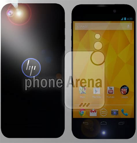 Hp Htc Concept hp brave android smartphone gets rendered feels like