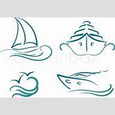 sailboat-outline-tattoo