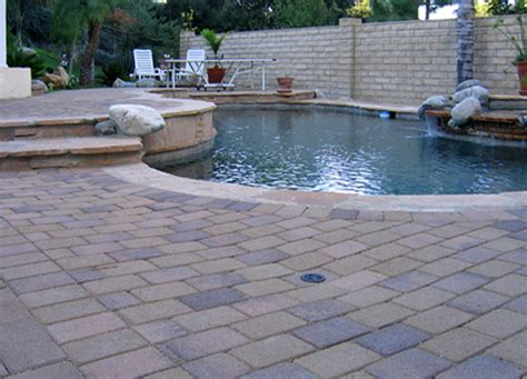 pool deck pavers paver pool deck photos gallery of pool deck