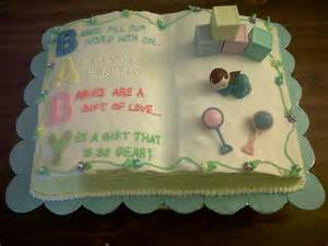 Baby Shower Book Cakes by Stacey S Cakes And Creations Baby Shower Cakes Gallery