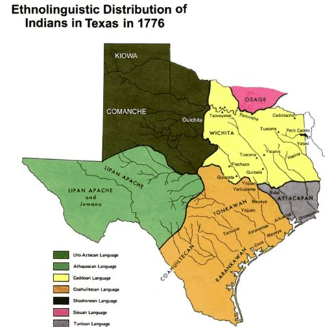 texas indian reservations map texas indian tribes map