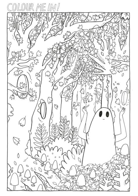 coloring book for adults sad and useless the sad ghost club coloring pages sad
