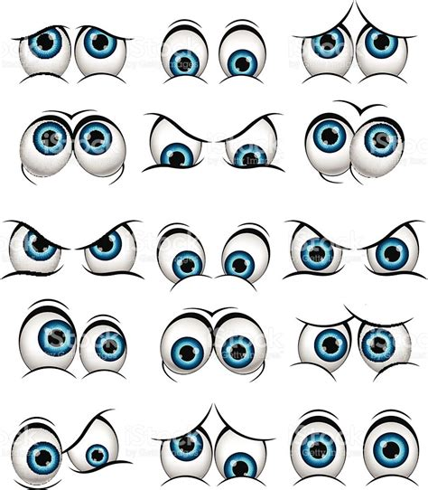 expression cartoons illustrations vector stock images cartoon faces with various expressions for you design
