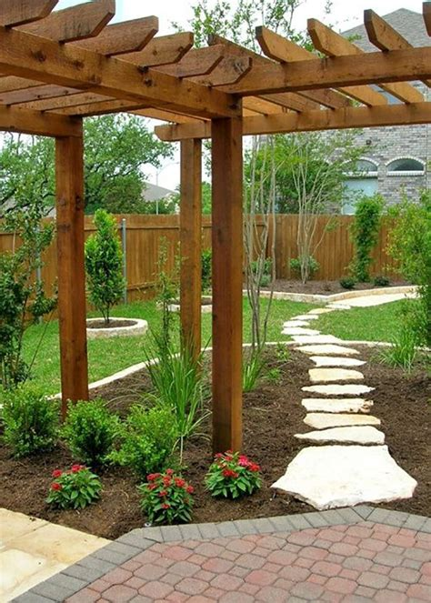 Diy Backyard Landscaping Ideas 1000 Ideas About Backyard Landscape Design On Pinterest Backyard Designs Small Backyard