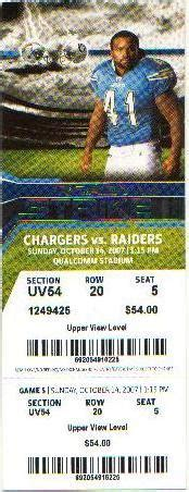 charger tickets how can i spot a counterfeit chargers ticket yahoo answers
