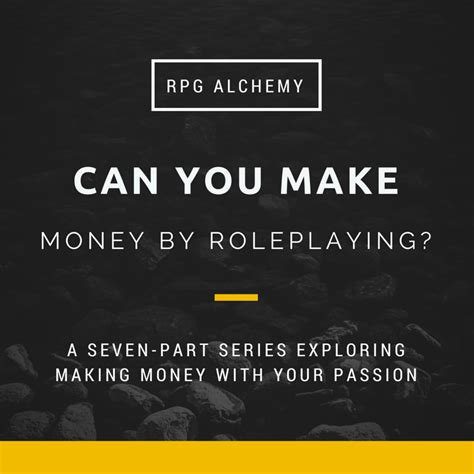 can you make a money order with a credit card can you make money by roleplaying introduction rpg