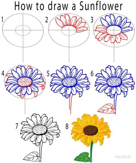 how to draw with you doodle how to draw a flower step by step image guides