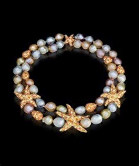 Margot McKinney Starfish Necklace with South Sea Pearls,