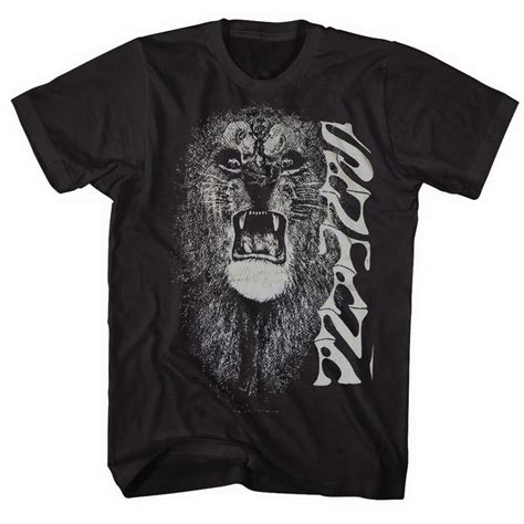 Santana Shirt santana white in black for joe bonamassa