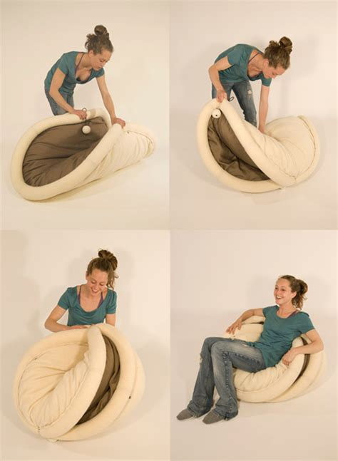 Taco Bean Bag Chair Soft Chair You Can Use To Fold Yourself Up Into A Taco