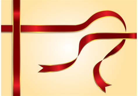 red ribbon vector   vector art stock