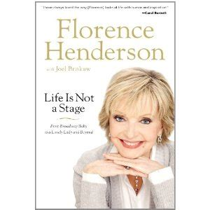libro anderson low on pac signatures signed books florence henderson autographed book life is not a stage