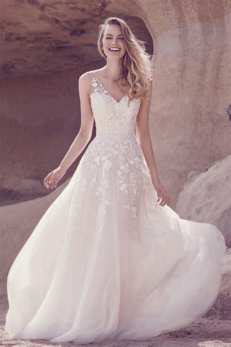 Tulle Top Dress soft tulle lace dress ellis bridals