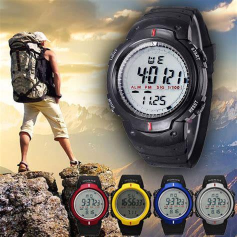 branded watches mens top brand luxury climbing waterproof