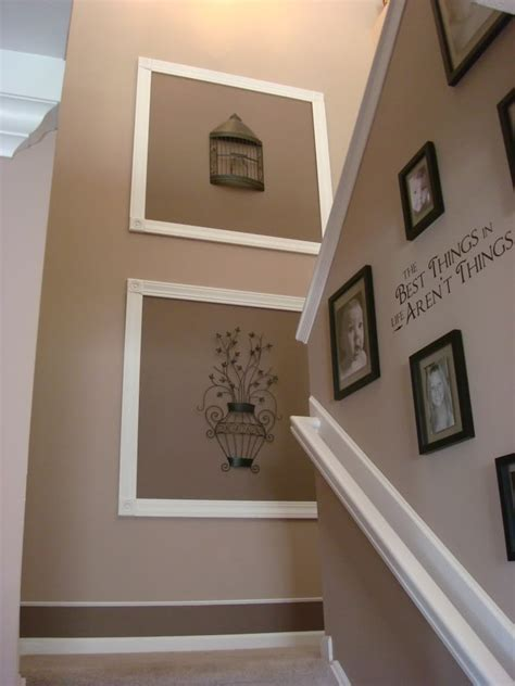 Staircase Wall Ideas Impressive Creative Wall Decor Decorating Ideas Images In Staircase Traditional Design Ideas