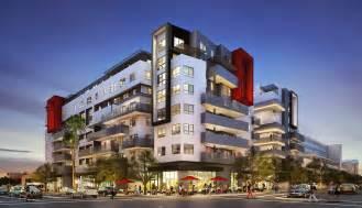 Six Bedroom Floor Plans new six story culver city palms mixed use nnn triple net