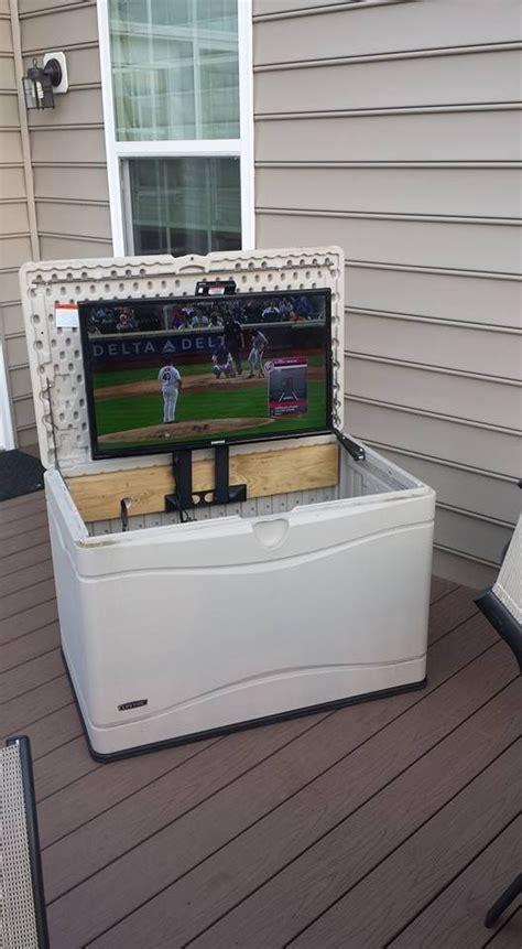 swing box tv best 25 deck box ideas on pinterest garden storage