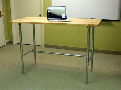 diy adjustable height desk adjustable height sitting and standing desk