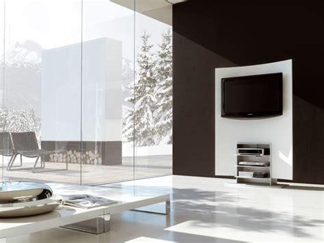 porta tv a muro con mensola porta tv da parete porta tv