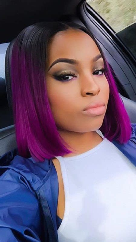african american ombre bob 2017 short hairstyles for black women new haircuts to