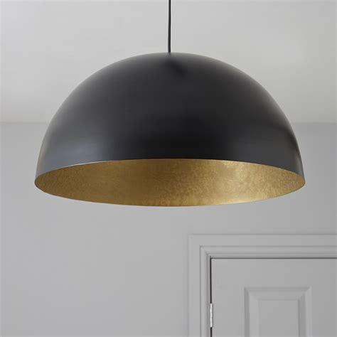 kapsel dome black pendant ceiling light ceiling