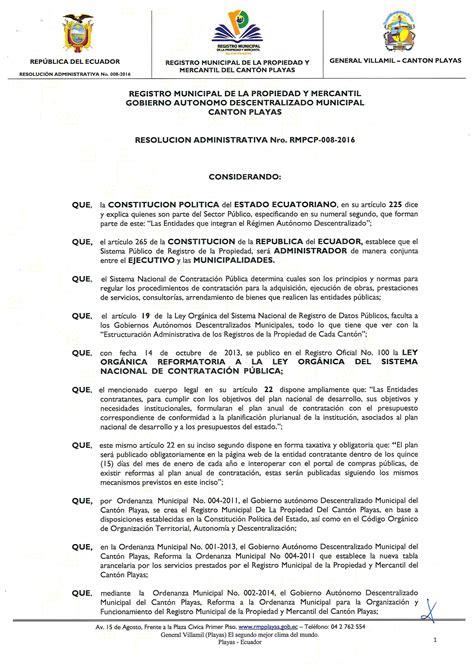 cdigo mercantil 2016 2016 registro municipal de la propiedad y mercant 237 l del
