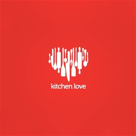 kitchen logo design kitchen love logo logo design gallery inspiration logomix