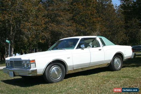 1979 Chrysler Lebaron by 1979 Chrysler Lebaron For Sale In Canada