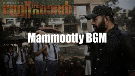 masss theme music mammootty bgm the great father mammootty mass theme