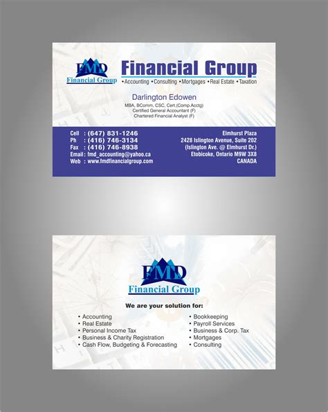 Income Tax Business Card Templates by Income Tax Business Cards Sle Gallery Card Design And
