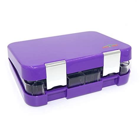 ebay adult section bento box 4 section tray with removable lunch box for
