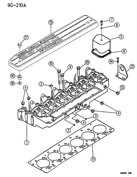 5 9 cummins engine diagram ebay