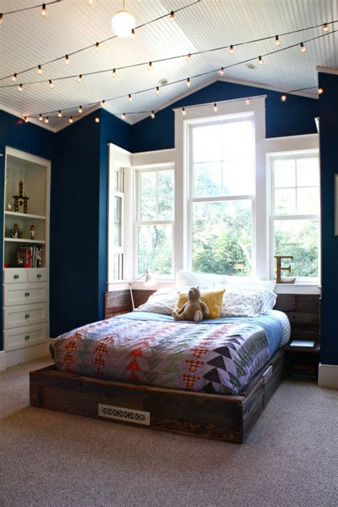 painted bedrooms 21 cool ceiling designs that turn kids bedrooms into