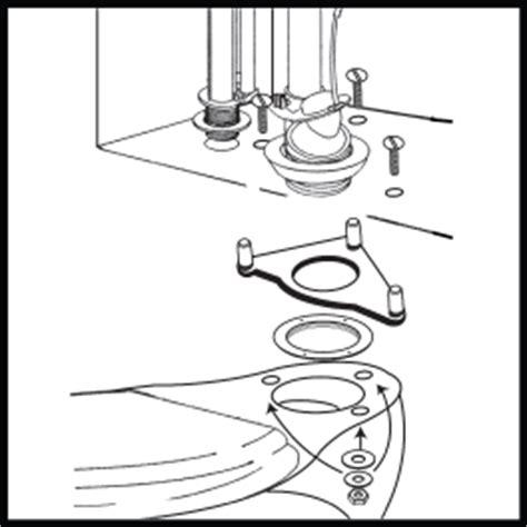Faucet Shank Pp235182 Tank To Bowl Kit Fits Kohler 174 3 Bolt Toilets