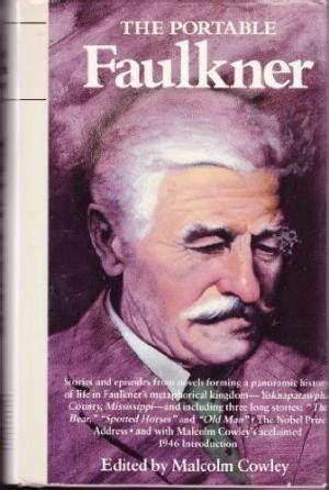 The Portable Faulkner cowley malcolm faulkner william abebooks