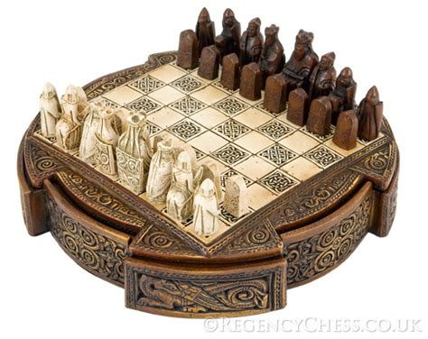 decorative chess set the regency chess company blog isle of lewis compact