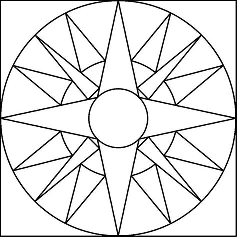 nautical mandala coloring pages 20 best shapes images on pinterest kids net printable
