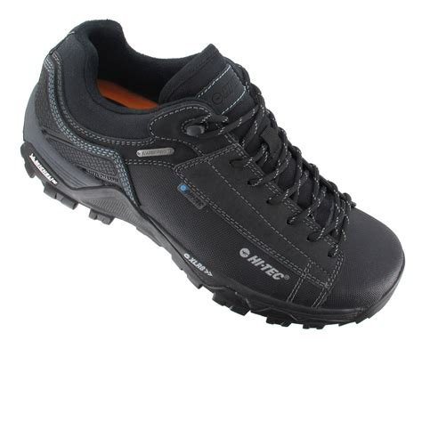 Hi Walk Outdoor Shoes hi tec trail ox low i mens black waterproof outdoors